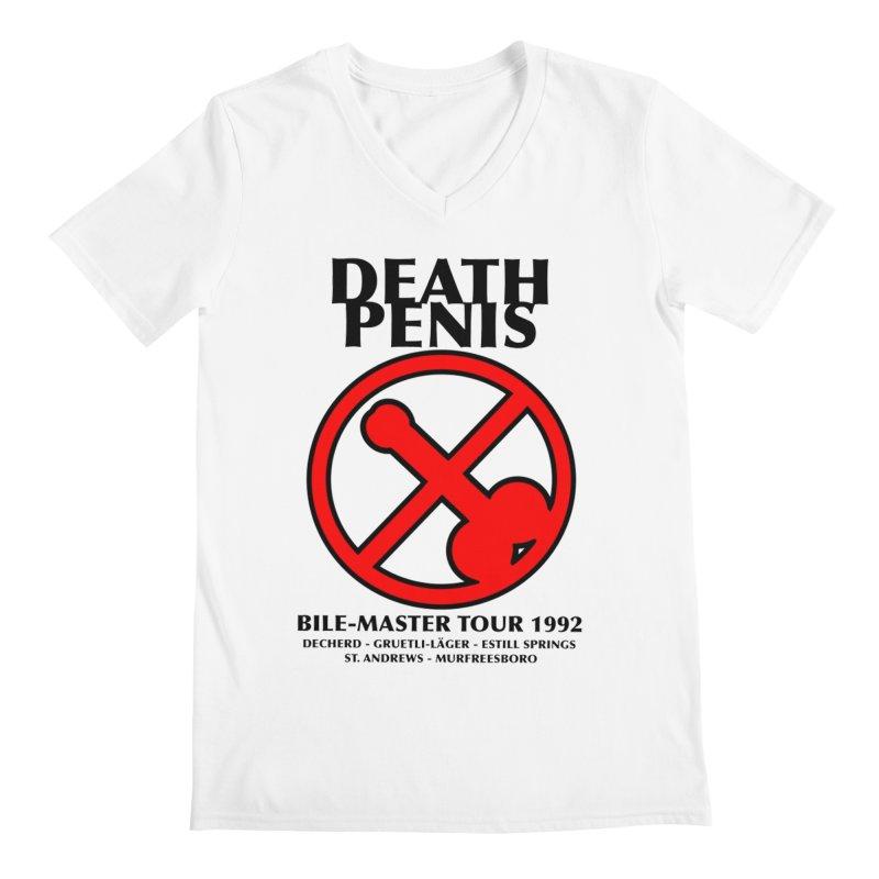 DEATH PENIS TOUR 1992 Men's V-Neck by worldwidecox's Artist Shop