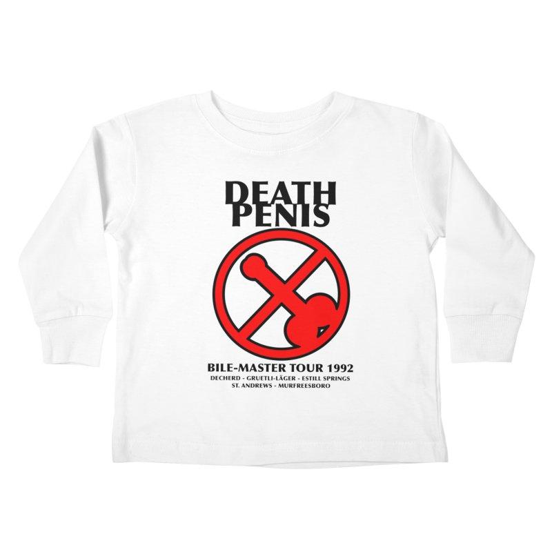 DEATH PENIS TOUR 1992 Kids Toddler Longsleeve T-Shirt by worldwidecox's Artist Shop