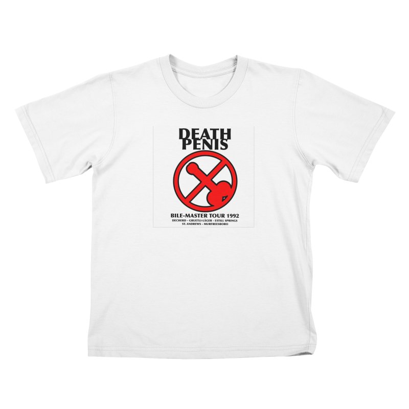 DEATH PENIS TOUR 1992 Kids T-shirt by worldwidecox's Artist Shop
