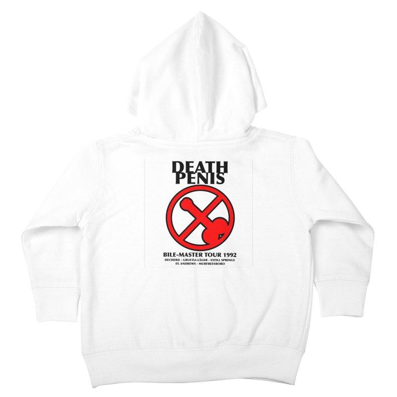 DEATH PENIS TOUR 1992 Kids Toddler Zip-Up Hoody by worldwidecox's Artist Shop