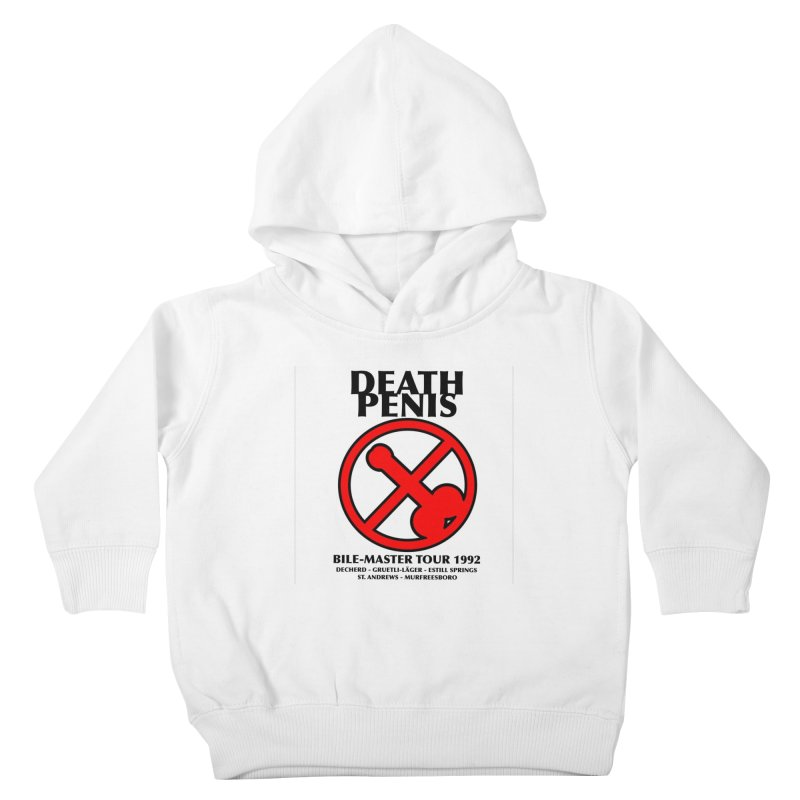 DEATH PENIS TOUR 1992 Kids Toddler Pullover Hoody by worldwidecox's Artist Shop
