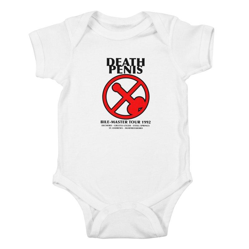 DEATH PENIS TOUR 1992 Kids Baby Bodysuit by worldwidecox's Artist Shop