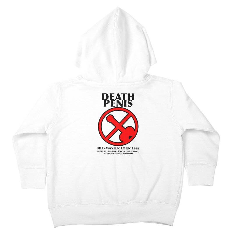 DEATH PENIS TOUR 1992 Kids Toddler Zip-Up Hoody by worldwidecox's Artist Shop