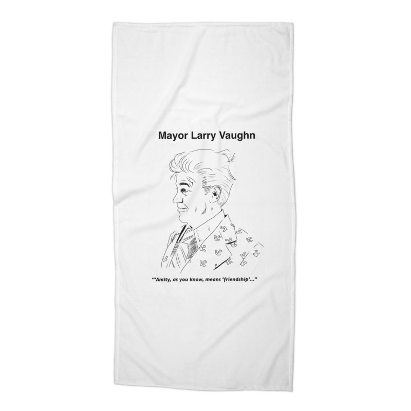 Larry Accessories Beach Towel by worldwidecox's Artist Shop