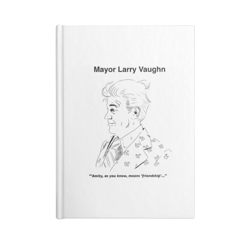 Larry Accessories Notebook by worldwidecox's Artist Shop