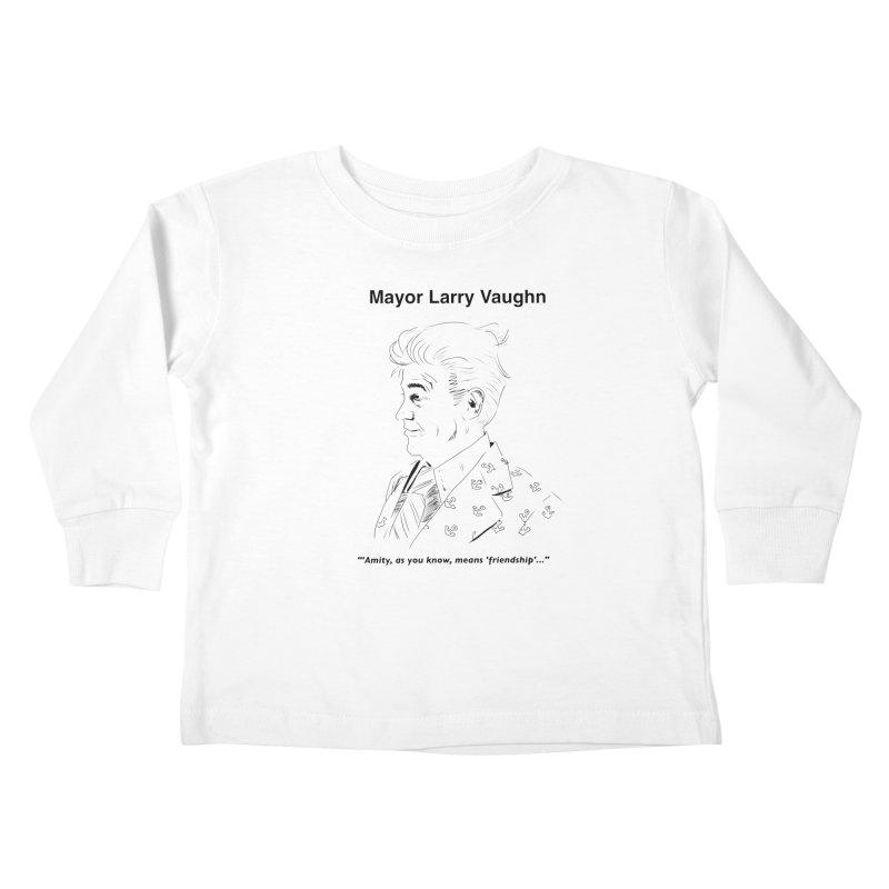Larry Kids Toddler Longsleeve T-Shirt by worldwidecox's Artist Shop