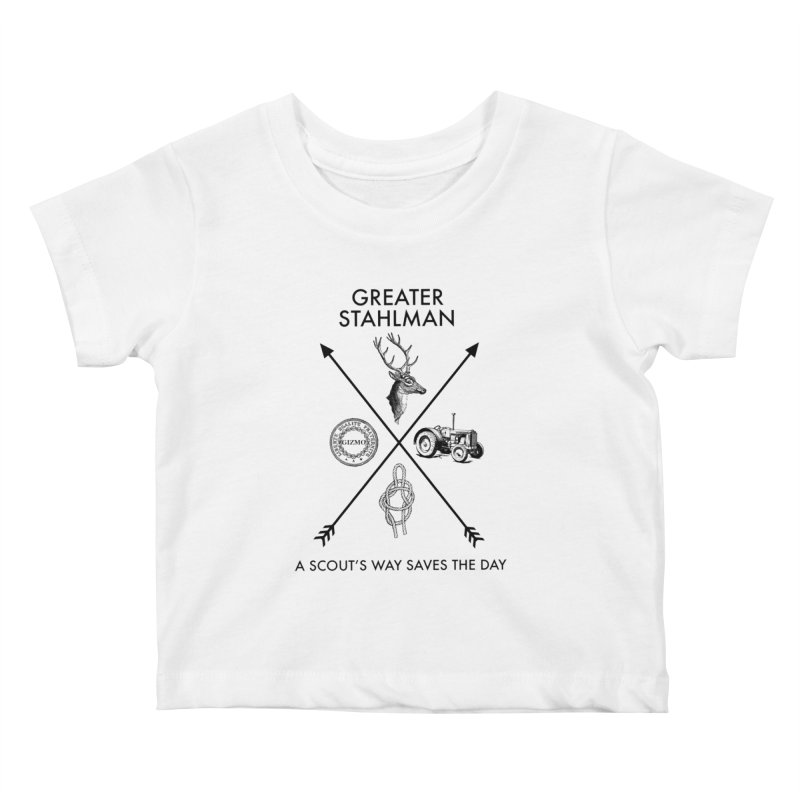 Stahlman Kids Baby T-Shirt by worldwidecox's Artist Shop