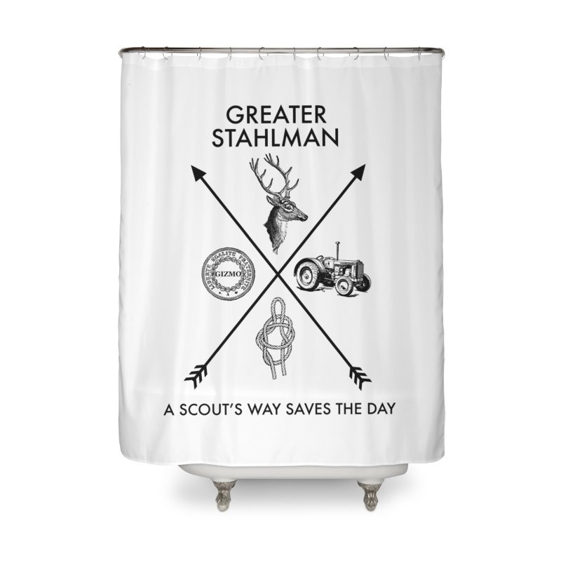 Stahlman Home Shower Curtain by worldwidecox's Artist Shop