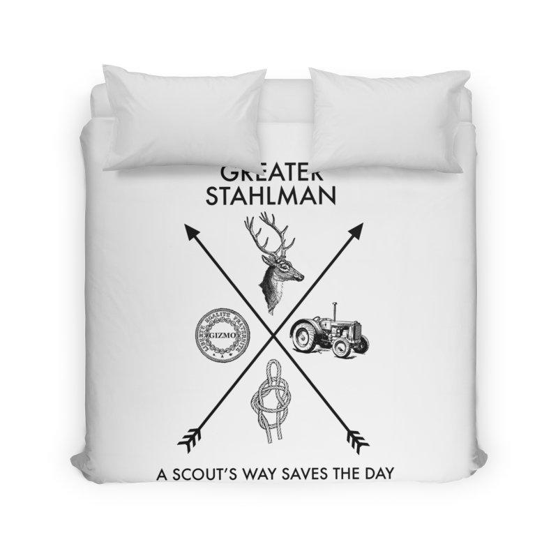 Stahlman Home Duvet by worldwidecox's Artist Shop