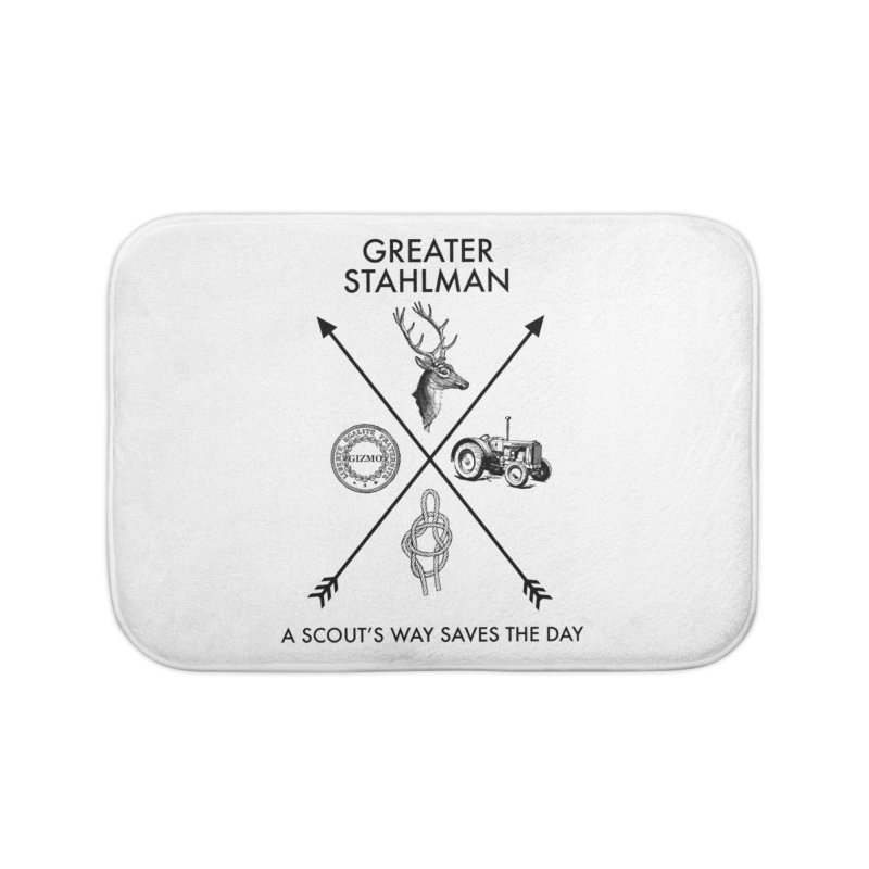 Stahlman Home Bath Mat by worldwidecox's Artist Shop