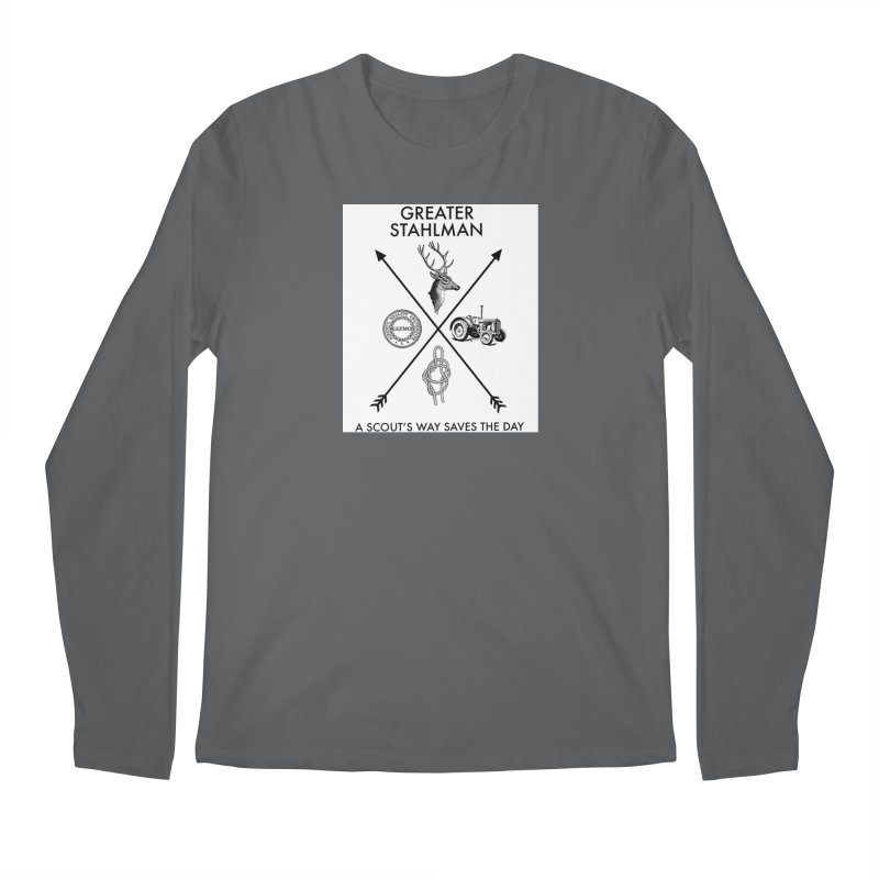 Stahlman Men's Longsleeve T-Shirt by worldwidecox's Artist Shop