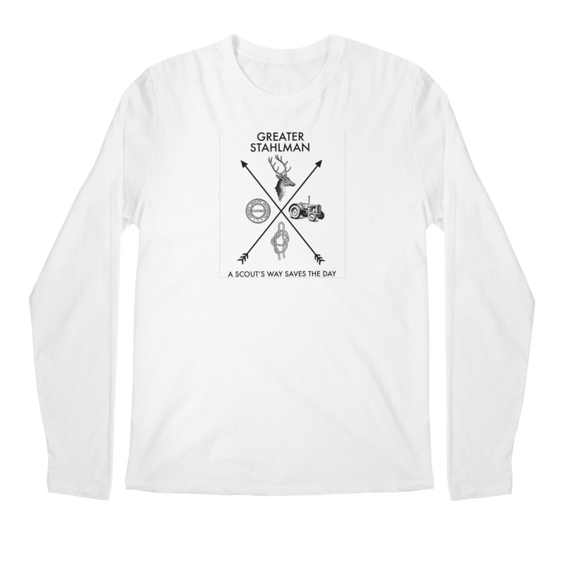 Stahlman Men's Longsleeve T-Shirt by worldwidecox's Artist Shop
