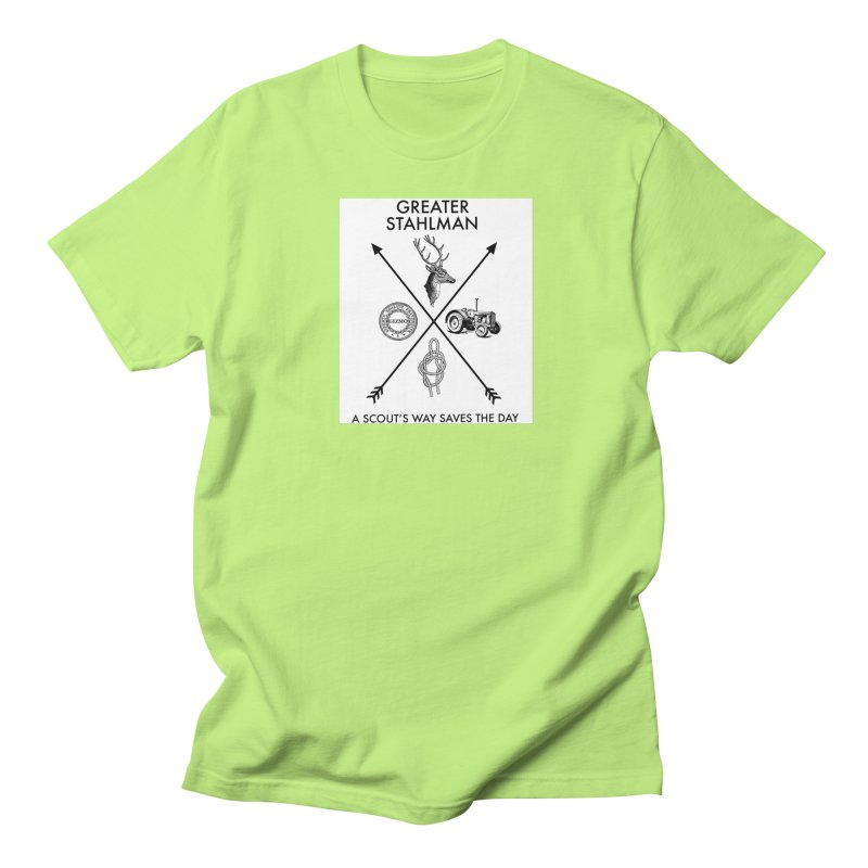 Stahlman Women's Unisex T-Shirt by worldwidecox's Artist Shop