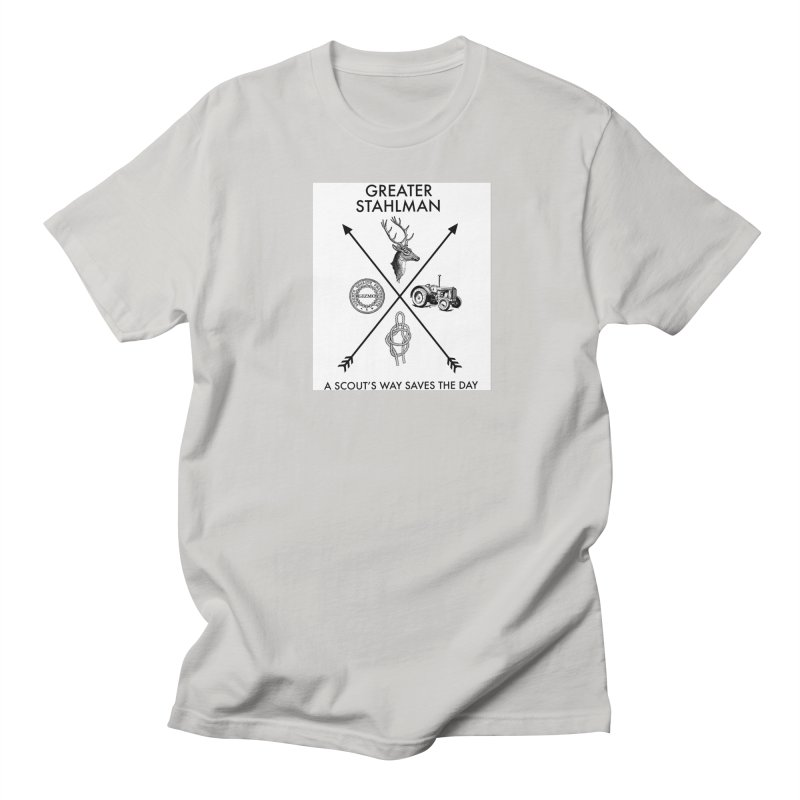 Stahlman Men's T-Shirt by worldwidecox's Artist Shop