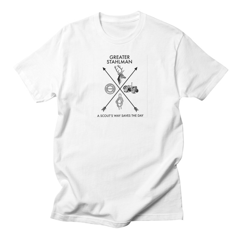 Stahlman Men's T-Shirt by worldwidecox's Artist Shop