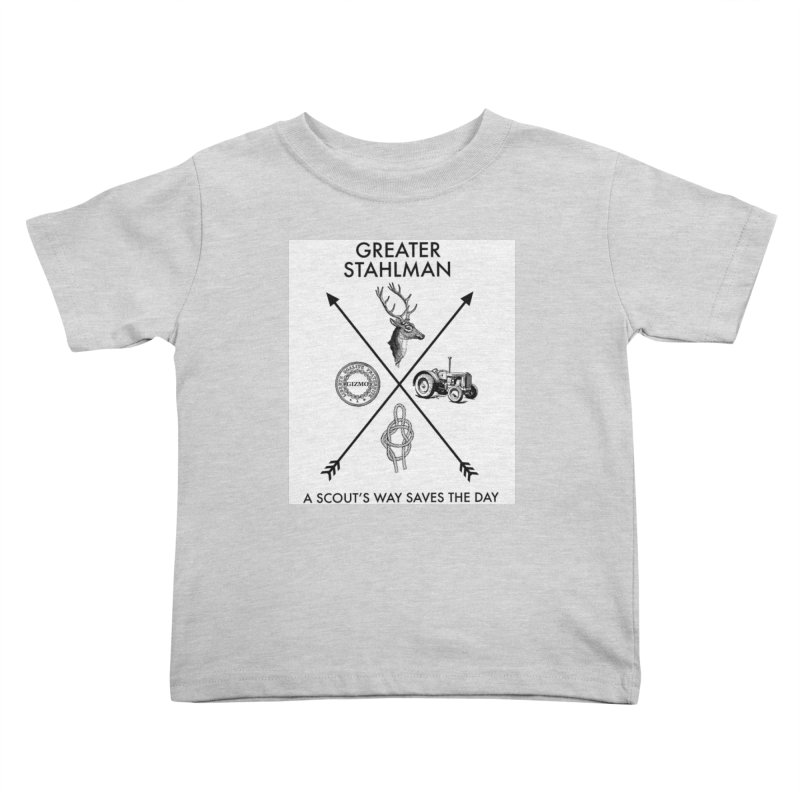 Stahlman Kids Toddler T-Shirt by worldwidecox's Artist Shop