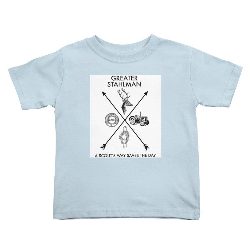 Stahlman Kids Toddler T-Shirt by worldwidecox's Artist Shop