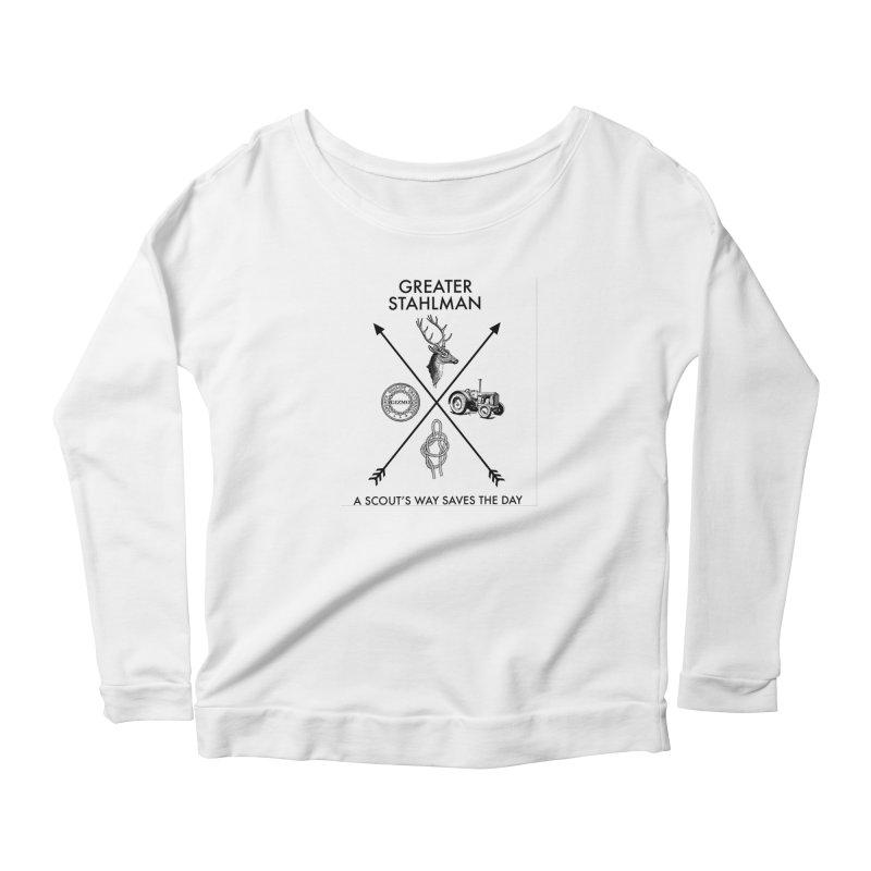 Stahlman Women's Longsleeve Scoopneck  by worldwidecox's Artist Shop