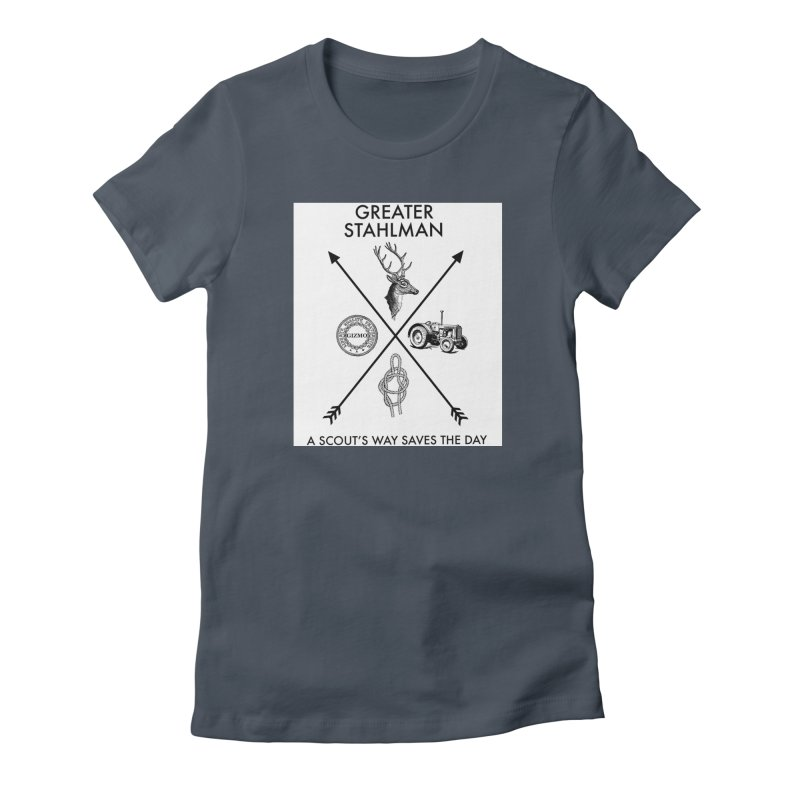 Stahlman Women's Fitted T-Shirt by worldwidecox's Artist Shop