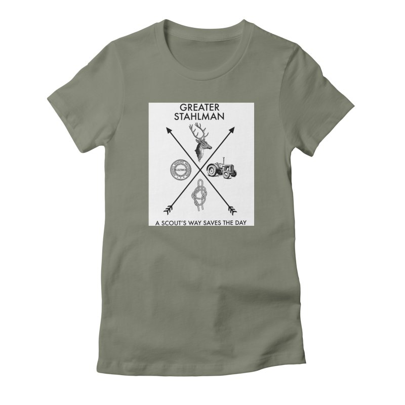 Stahlman Women's Fitted T-Shirt by worldwidecox's Artist Shop