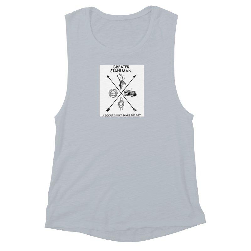 Stahlman Women's Muscle Tank by worldwidecox's Artist Shop