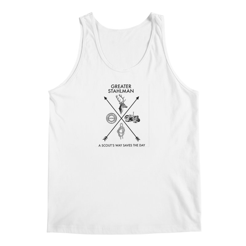 Stahlman Men's Tank by worldwidecox's Artist Shop