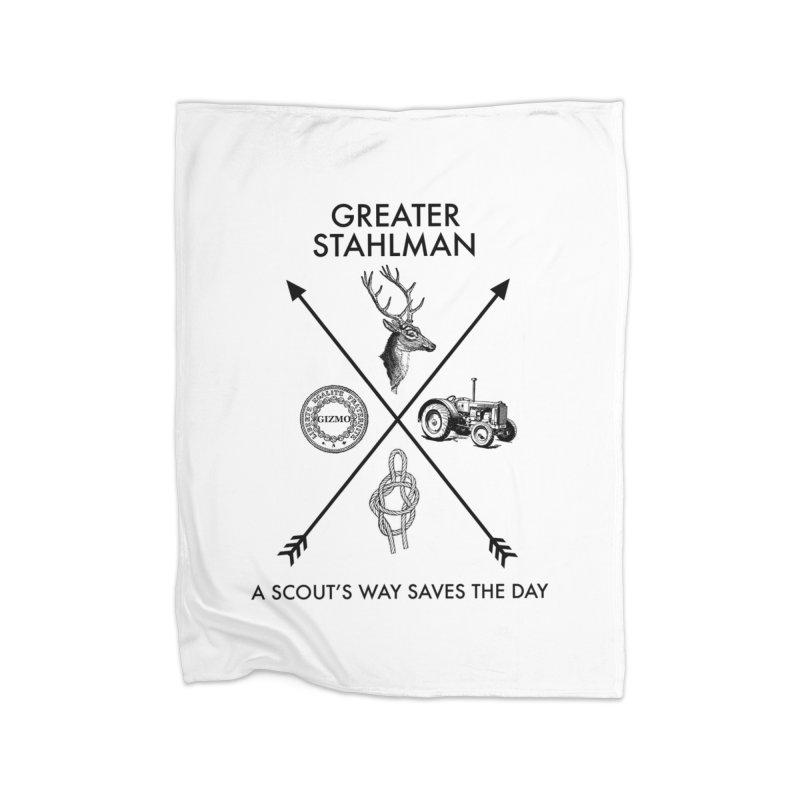 Stahlman Home Blanket by worldwidecox's Artist Shop