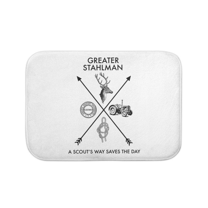 Stahlman Home Bath Mat by worldwidecox's Artist Shop