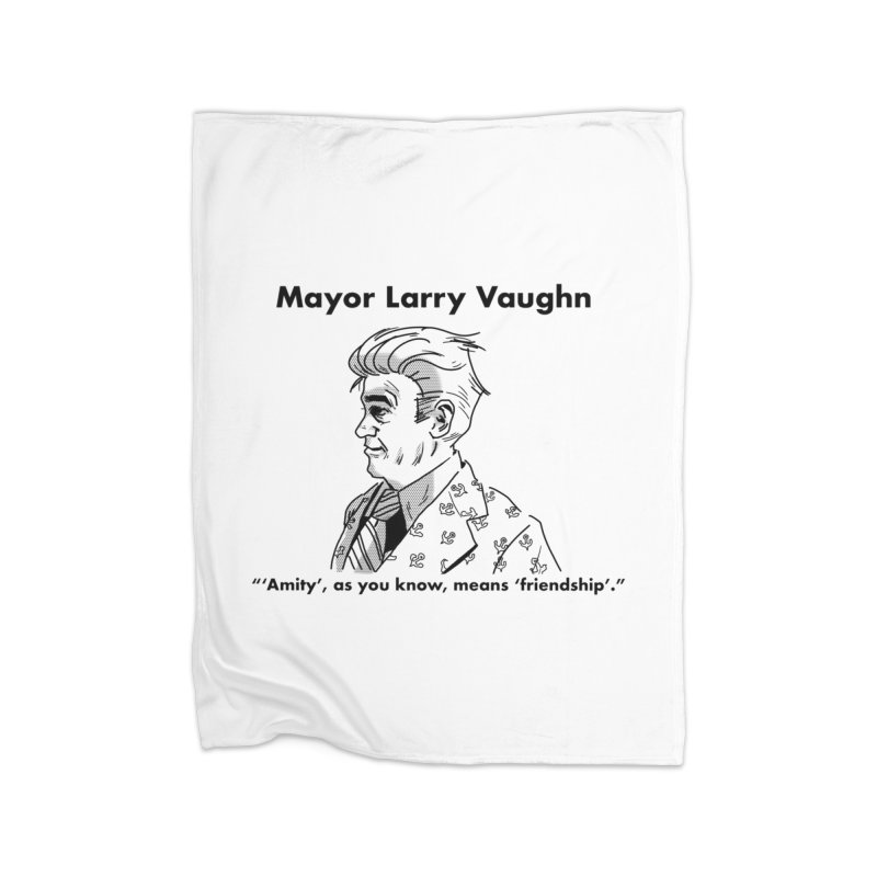 Larry Home Blanket by worldwidecox's Artist Shop