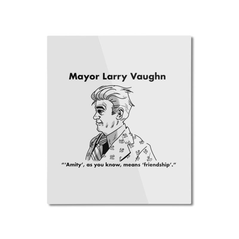 Larry Home Mounted Aluminum Print by worldwidecox's Artist Shop