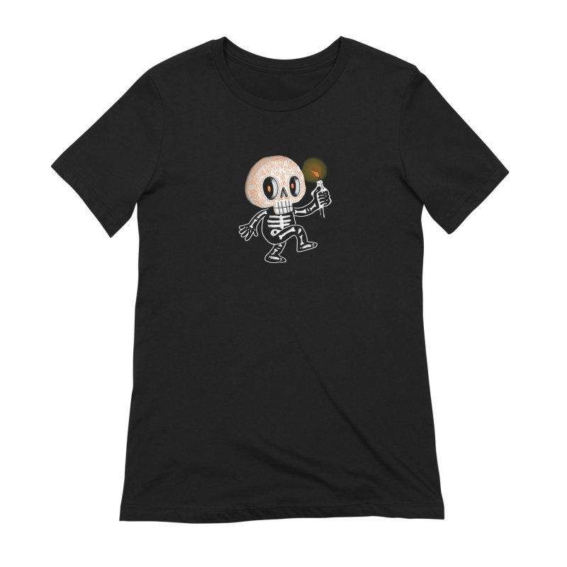 I'll Follow You Into The Dark Women's T-Shirt by wotto's Artist Shop