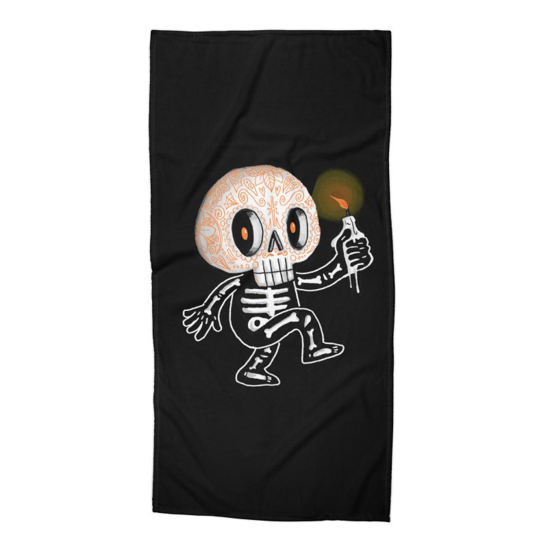 I'll Follow You Into The Dark Accessories Beach Towel by wotto's Artist Shop