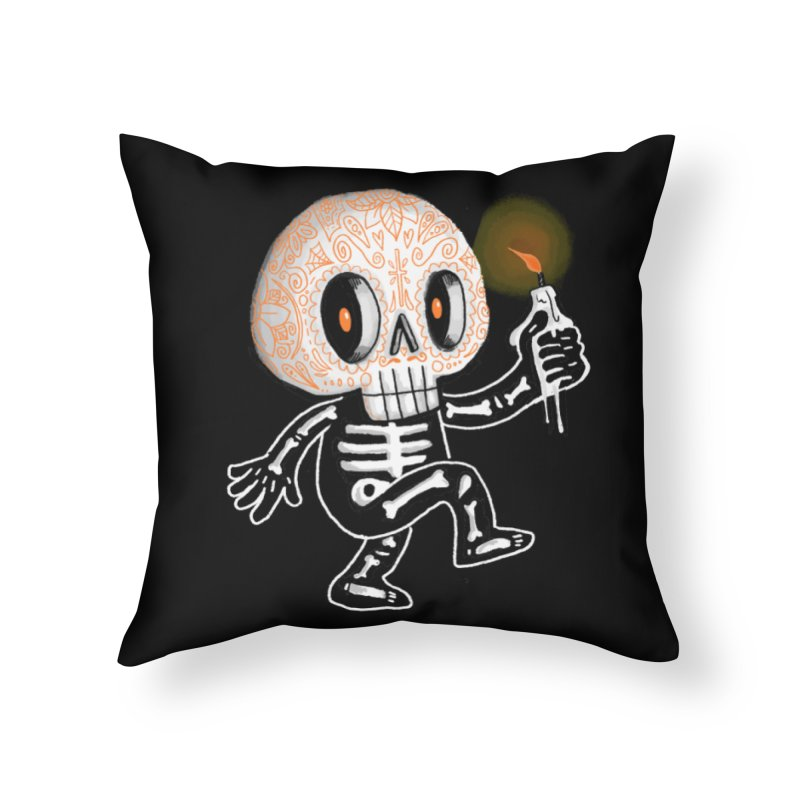 I'll Follow You Into The Dark Home Throw Pillow by wotto's Artist Shop