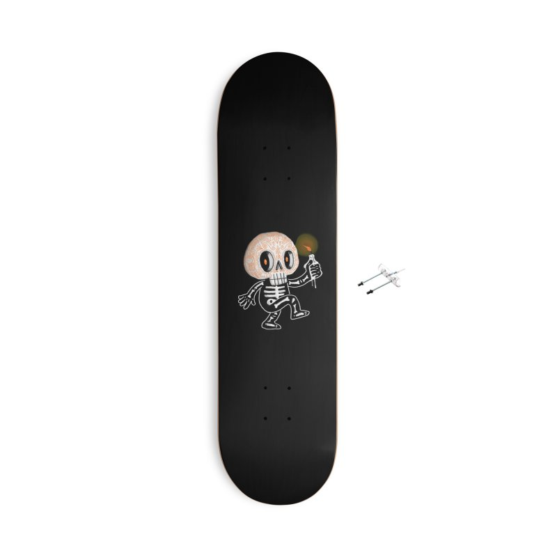 I'll Follow You Into The Dark Accessories Skateboard by wotto's Artist Shop