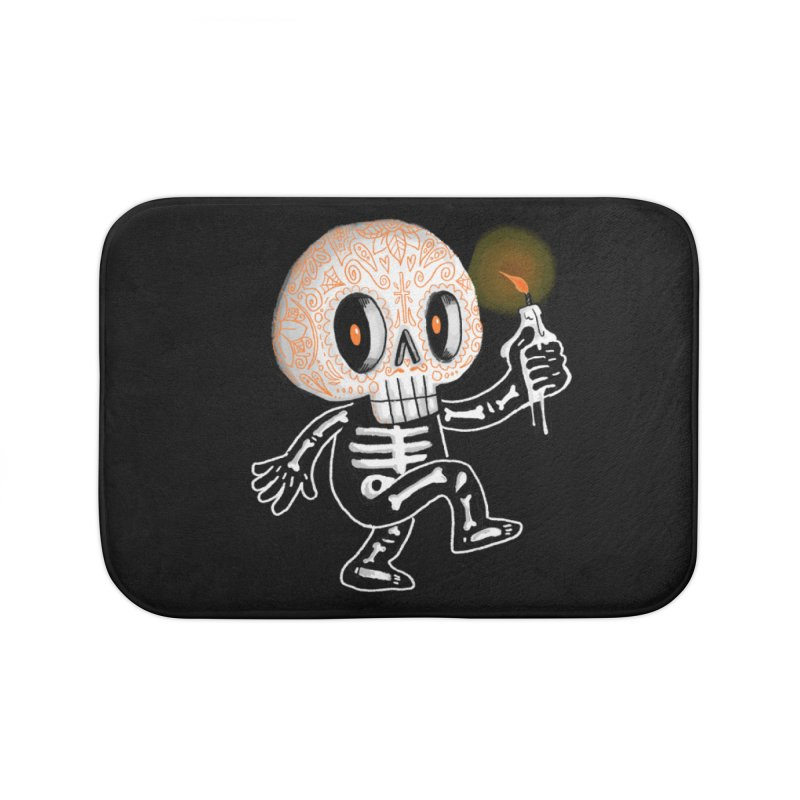 I'll Follow You Into The Dark Home Bath Mat by wotto's Artist Shop