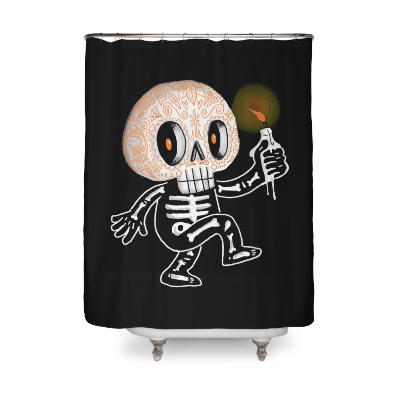 I'll Follow You Into The Dark Home Shower Curtain by wotto's Artist Shop