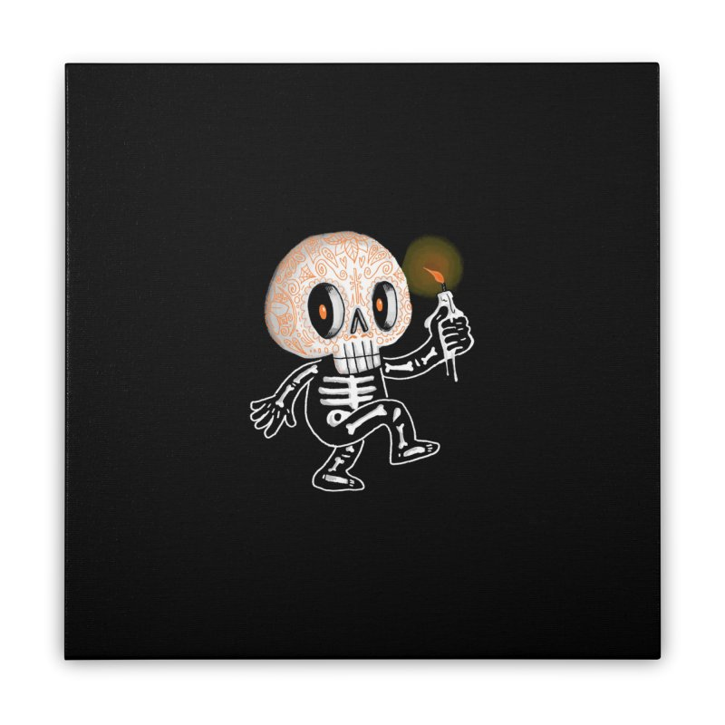 I'll Follow You Into The Dark Home Stretched Canvas by wotto's Artist Shop
