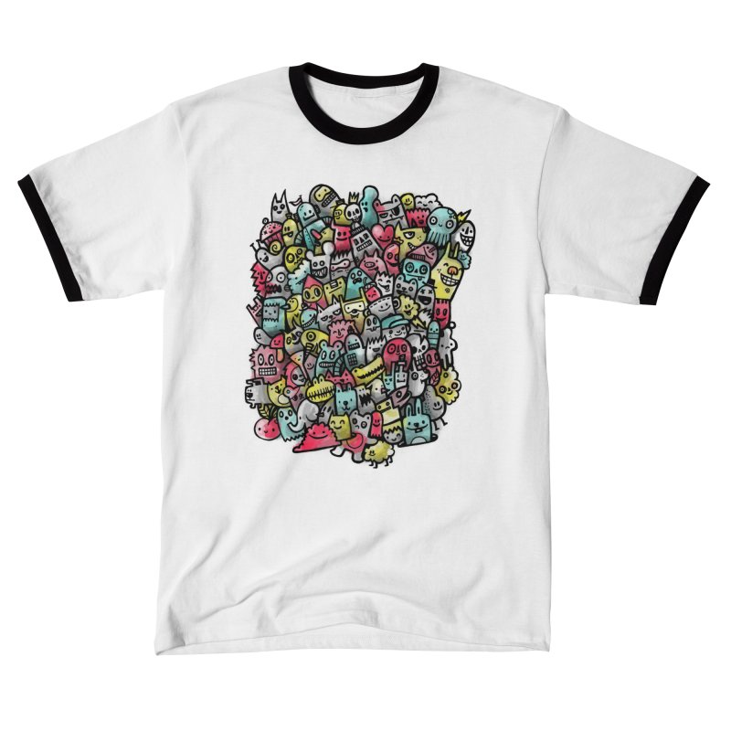 Staying Outside the lines  Men's T-Shirt by wotto's Artist Shop