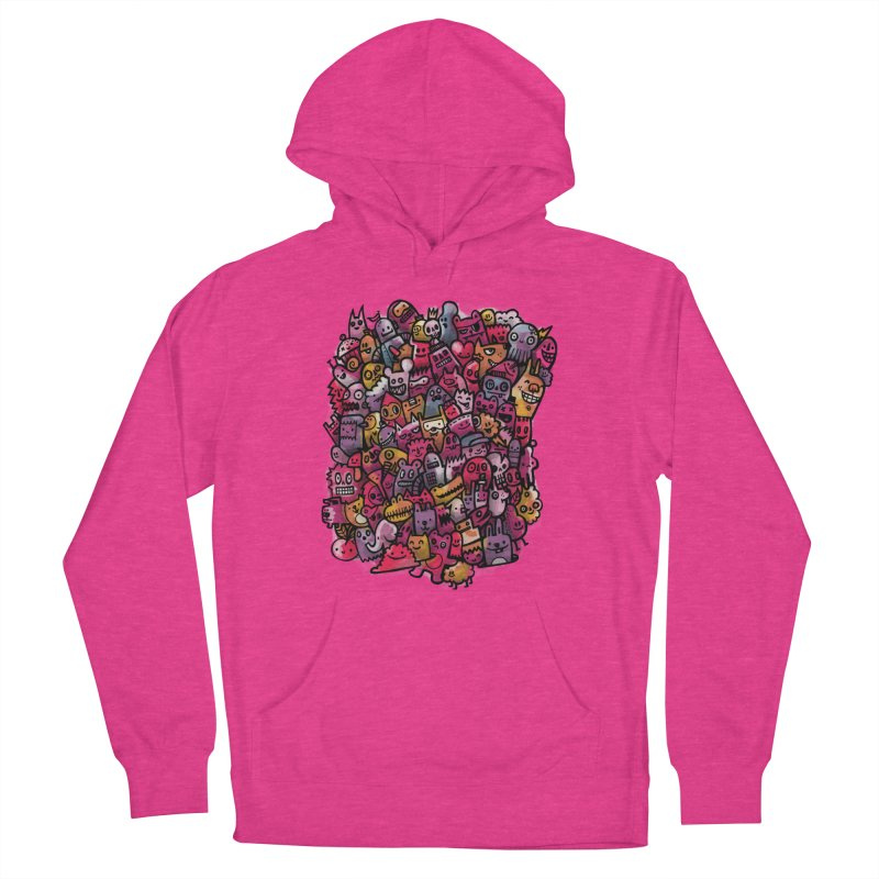 Staying Outside the lines  Women's French Terry Pullover Hoody by wotto's Artist Shop