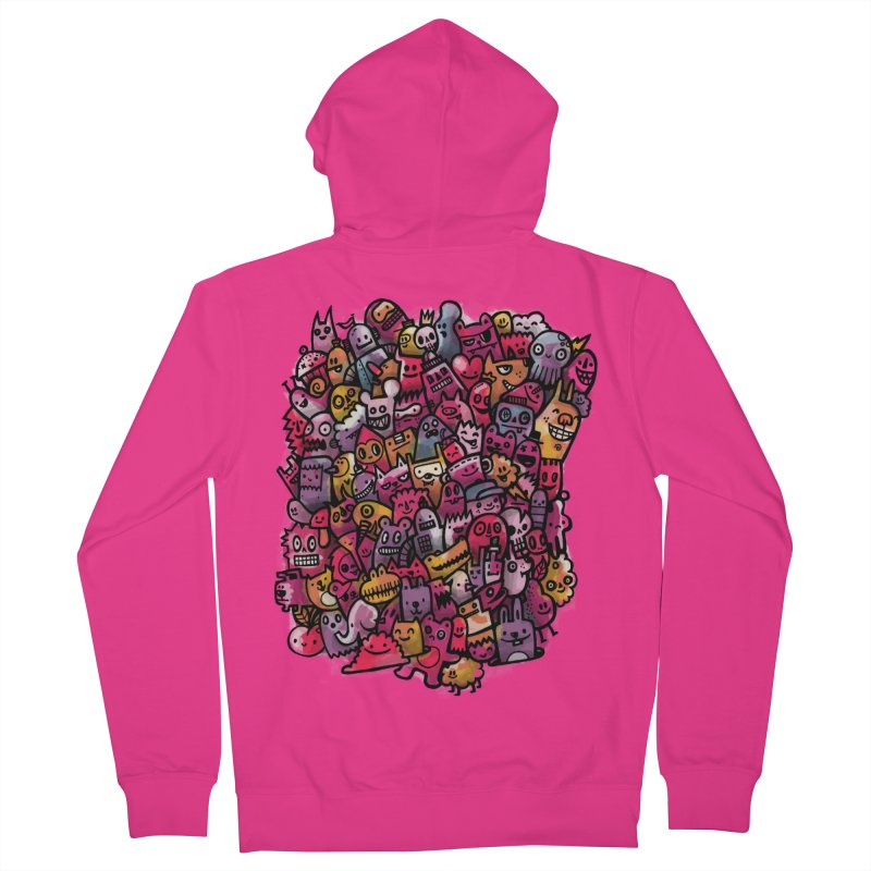 Staying Outside the lines  Men's Zip-Up Hoody by wotto's Artist Shop