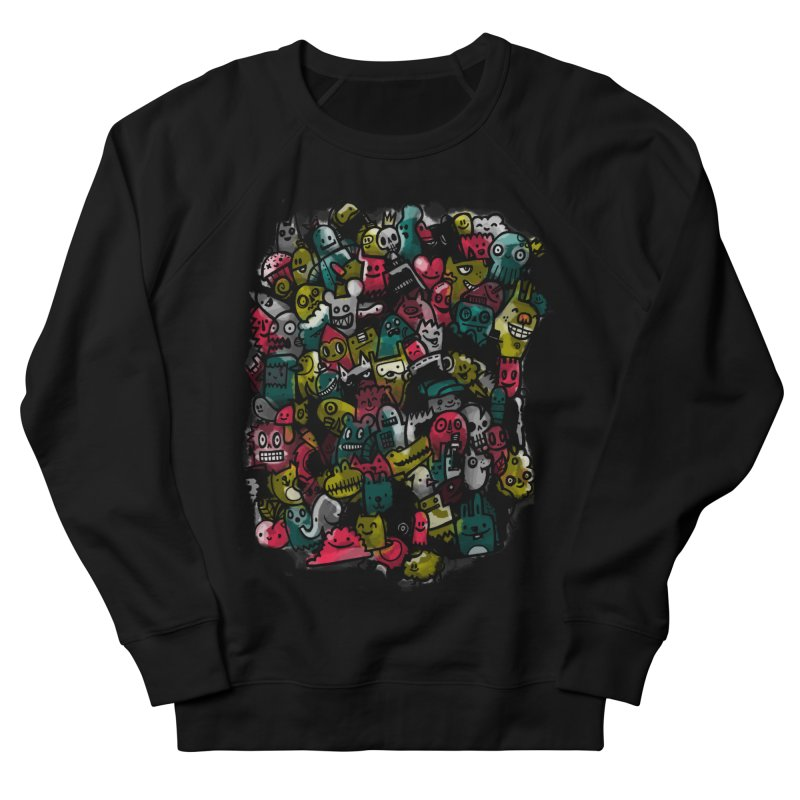 Staying Outside the lines  Men's French Terry Sweatshirt by wotto's Artist Shop