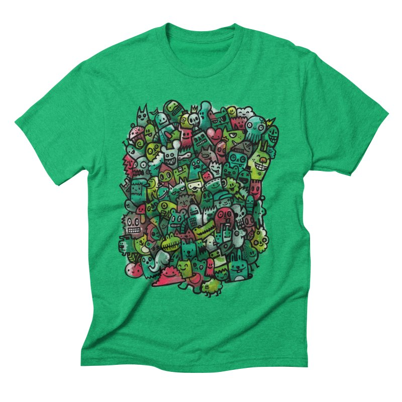Staying Outside the lines  Men's Triblend T-shirt by wotto's Artist Shop