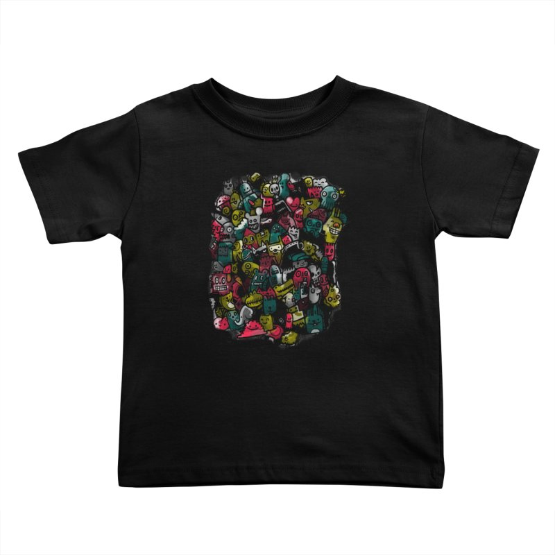 Staying Outside the lines  Kids Toddler T-Shirt by wotto's Artist Shop