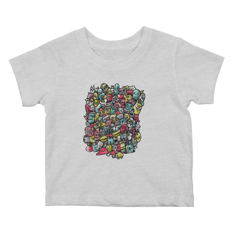 Staying Outside the lines  Kids Baby T-Shirt by wotto's Artist Shop