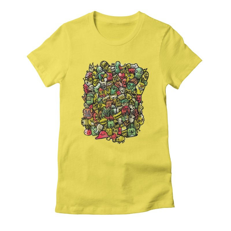 Staying Outside the lines  Women's T-Shirt by wotto's Artist Shop
