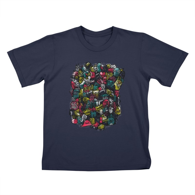 Staying Outside the lines  Kids T-Shirt by wotto's Artist Shop