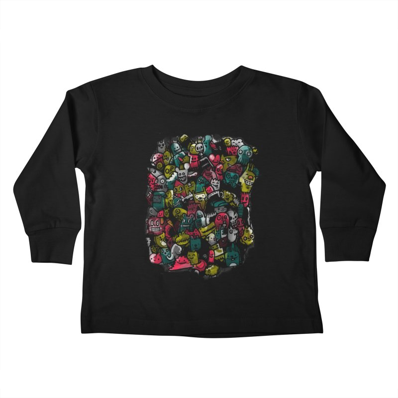 Staying Outside the lines  Kids Toddler Longsleeve T-Shirt by wotto's Artist Shop