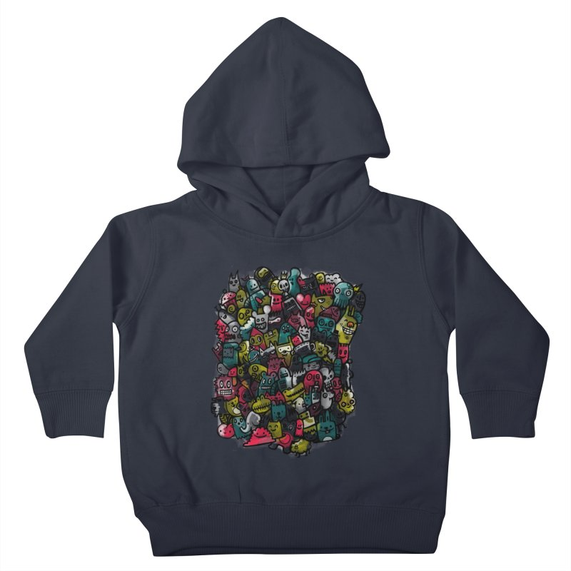 Staying Outside the lines  Kids Toddler Pullover Hoody by wotto's Artist Shop