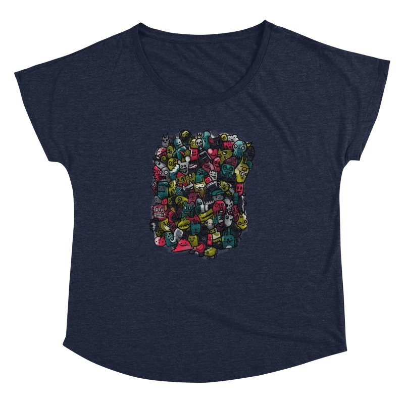 Staying Outside the lines  Women's Dolman by wotto's Artist Shop