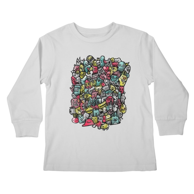 Staying Outside the lines  Kids Longsleeve T-Shirt by wotto's Artist Shop
